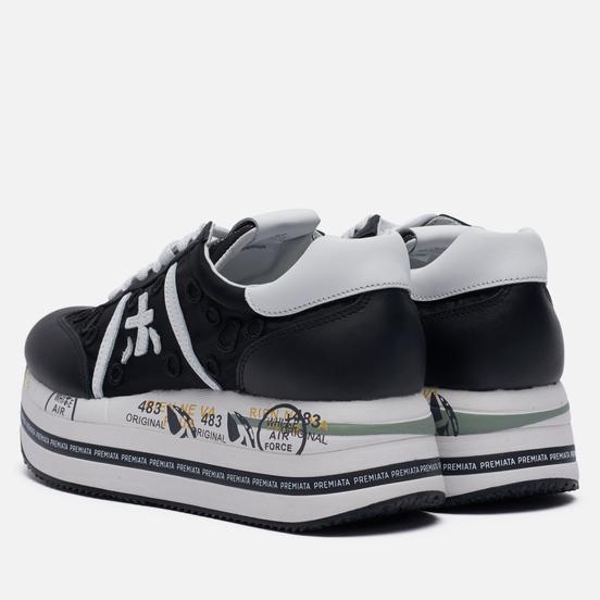 Женские кроссовки Premiata Beth 5215 Black/White
