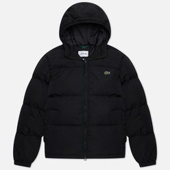 Мужской пуховик Lacoste Short Lightweight Water-Resistant Black