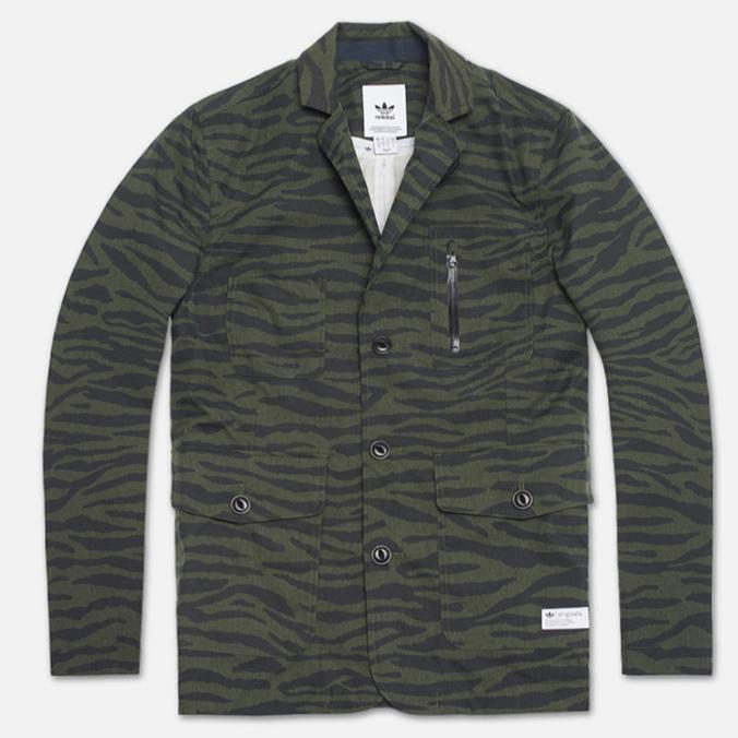 Мужской пиджак adidas Originals TC Shell Tiger Camo