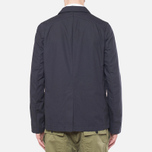 Garbstore Reverse Prison Off Cut Blazer Navy photo- 3