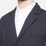 Garbstore Reverse Prison Off Cut Blazer Navy photo- 5