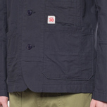 Garbstore Reverse Prison Off Cut Blazer Navy photo- 7