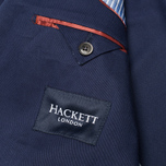 Мужской пиджак Hackett Single Breasted Cotton Twill Navy фото- 5
