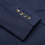 Мужской пиджак Hackett Single Breasted Cotton Twill Navy фото- 8