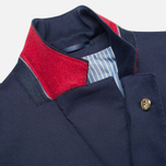 Мужской пиджак Hackett Single Breasted Cotton Twill Navy фото- 3