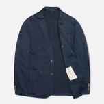 Hackett Single Breasted Garment Dye Men`s Blazer Navy photo- 1