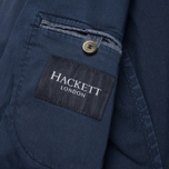 Hackett Single Breasted Garment Dye Men`s Blazer Navy photo- 6
