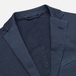 Hackett Single Breasted Garment Dye Men`s Blazer Navy photo- 2