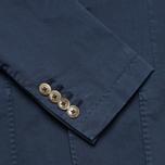 Hackett Single Breasted Garment Dye Men`s Blazer Navy photo- 5