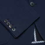 Мужской пиджак Hackett Woven Piquet Navy фото- 4