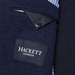 Мужской пиджак Hackett Woven Piquet Navy фото- 5