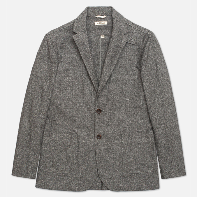 Мужской пиджак The Hill-Side Herringbone Tweed Tailored Grey