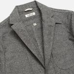 Мужской пиджак The Hill-Side Herringbone Tweed Tailored Grey фото- 1