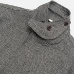 Мужской пиджак The Hill-Side Herringbone Tweed Tailored Grey фото- 4