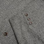 Мужской пиджак The Hill-Side Herringbone Tweed Tailored Grey фото- 3