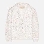 Maison Kitsune Multicolored Tweed Women's Blazer White photo- 0