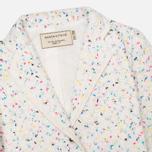 Maison Kitsune Multicolored Tweed Women's Blazer White photo- 1