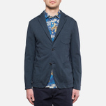 Woolrich Jersey Club Blazer Maritime photo- 5
