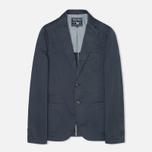 Woolrich Twill Stretch Patch Men`s Blazer Navy photo- 0