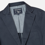 Woolrich Twill Stretch Patch Men`s Blazer Navy photo- 1