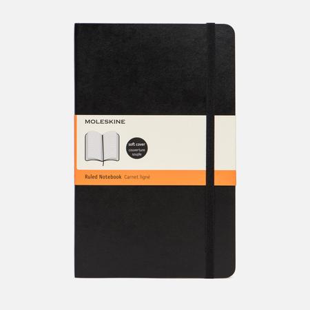 Блокнот Moleskine Classic Soft Ruler Black 192 pgs