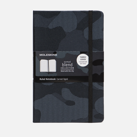 Блокнот Moleskine Limited Edition Blend LGH Large Ruler Camouflage Black 240 pgs