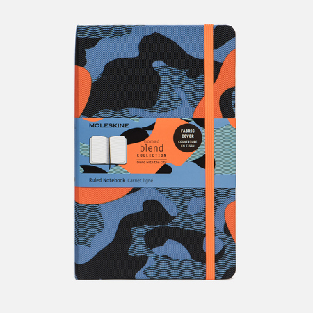 Блокнот Moleskine Limited Edition Blend LGH Large Ruler Camouflage Orange 240 pgs