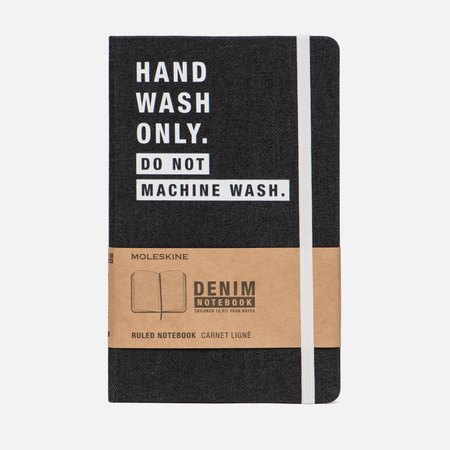 Блокнот Moleskine Limited Edition Denim Notebooks Large Ruler Hand Wash 240 pgs