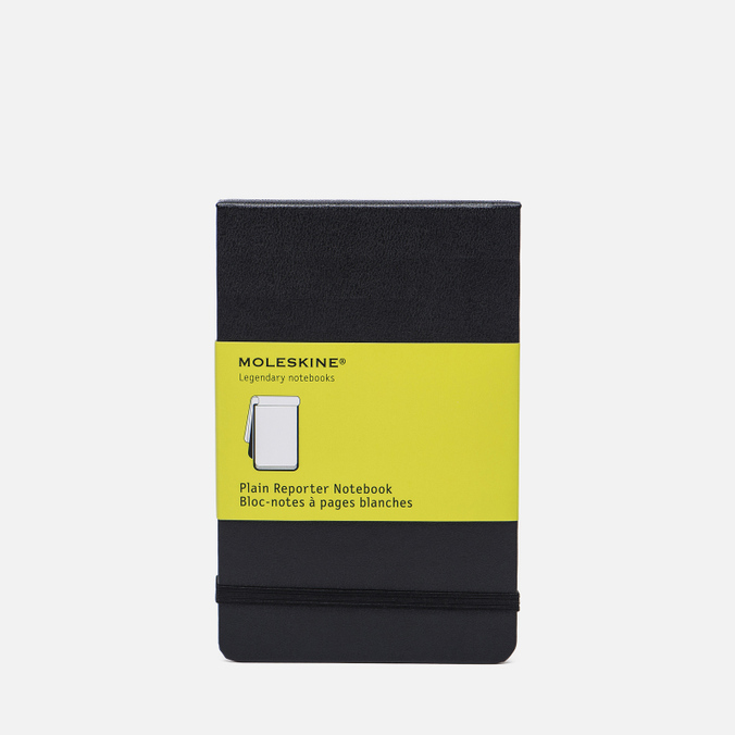 Блокнот Moleskine Reporter Pocket Non-Linear Black 192 pgs