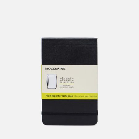 Блокнот Moleskine Reporter Soft Pocket Non-Linear Black 192 pgs