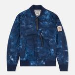 Мужская куртка бомбер GJO.E 10B2CM Camo Indigo фото- 0