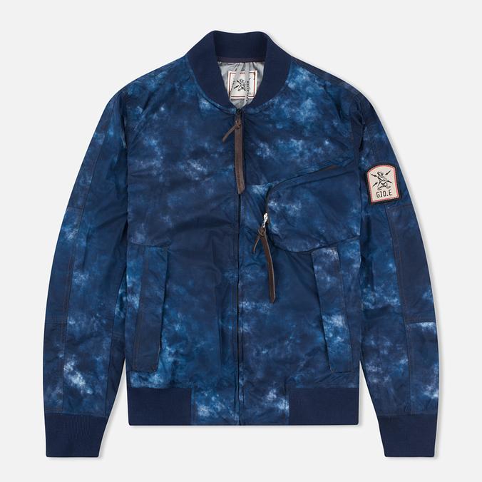 Мужская куртка бомбер GJO.E 10B2CM Camo Indigo