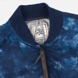 Мужская куртка бомбер GJO.E 10B2CM Camo Indigo фото- 2