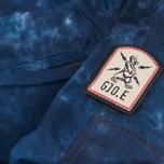 Мужская куртка бомбер GJO.E 10B2CM Camo Indigo фото- 7