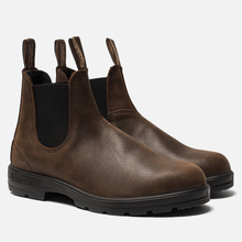 Мужские ботинки Blundstone 1609 Leather Lined Antique Brown фото- 0