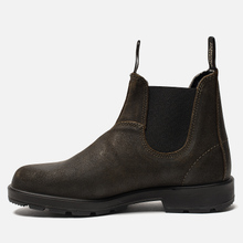 Мужские ботинки Blundstone 1615 Original Suede Dark Olive фото- 5