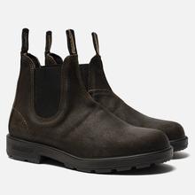 Мужские ботинки Blundstone 1615 Original Suede Dark Olive фото- 0