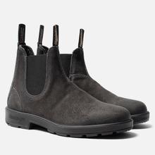 Мужские ботинки Blundstone 1910 Suede Boots Steel Grey фото- 0