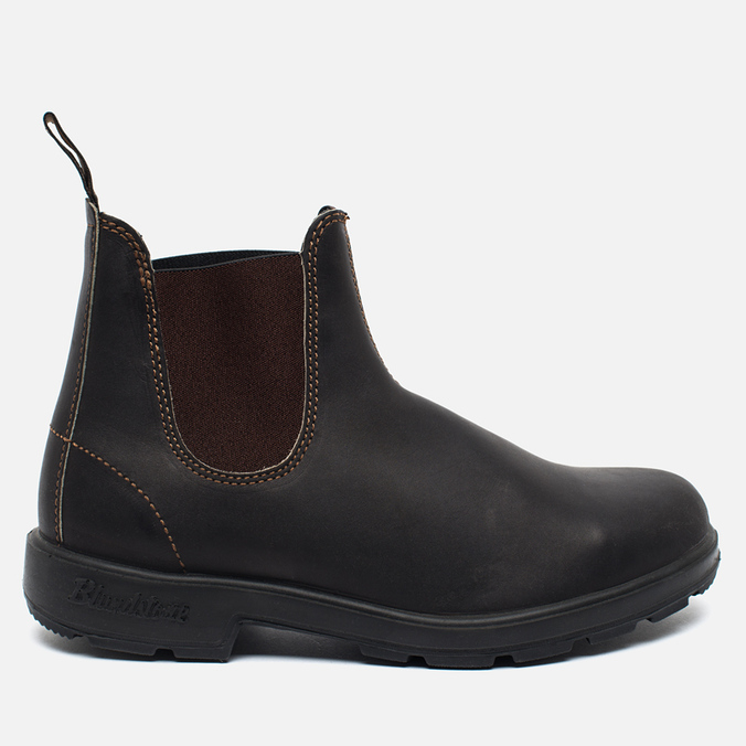 Blundstone 500 Shoes Stout Brown Premium
