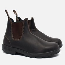 Ботинки Blundstone 500 Stout Brown Premium фото- 0