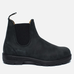 Ботинки Blundstone 587 Round Toe Chelsea Leather Black фото- 0