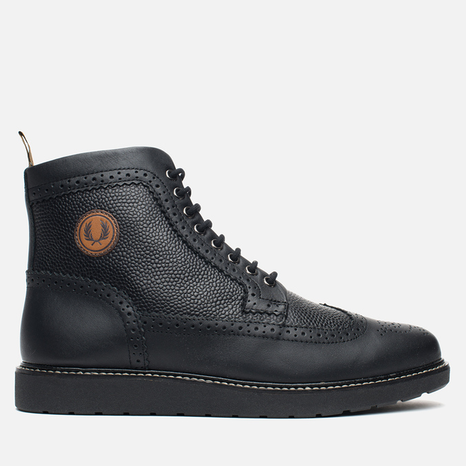 Fred Perry Northgate Boot Leather Men's Brogue Black