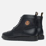 Fred Perry Northgate Boot Leather Men's Brogue Black photo- 2