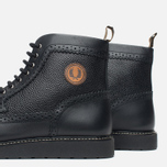 Fred Perry Northgate Boot Leather Men's Brogue Black photo- 5