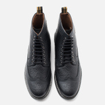 Fred Perry Northgate Boot Leather Men's Brogue Black photo- 4