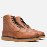Мужские ботинки броги Fred Perry Northgate Boot Leather Tan фото- 1