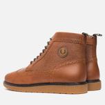 Мужские ботинки броги Fred Perry Northgate Boot Leather Tan фото- 2