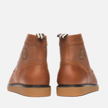 Мужские ботинки броги Fred Perry Northgate Boot Leather Tan фото- 3