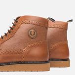 Мужские ботинки броги Fred Perry Northgate Boot Leather Tan фото- 5