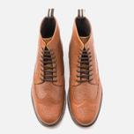 Мужские ботинки броги Fred Perry Northgate Boot Leather Tan фото- 4
